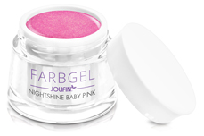 Jolifin Farbgel Nightshine baby pink 5ml