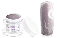 Jolifin Farbgel nude grey Glimmer 5ml