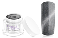 Jolifin Cat-Eye Farbgel silver shine 5ml