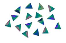 Jolifin Einleger - Triangle purple-blue