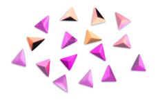 Jolifin Einleger - Triangle pink-apricot