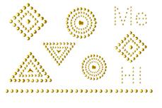 Jolifin LAVENI Pearl Sticker - Nr. 1