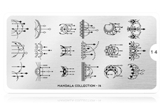 MoYou-London Schablone Mandala Collection 14