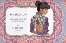MoYou-London Schablone Mandala Collection 14
