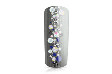 Jolifin Strass-Display - black & white Mix