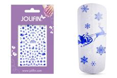 Jolifin XL Sticker Schneeflocke Nr. 5