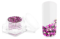 Jolifin Chrome Glitter - fancy purple