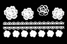 Jolifin LAVENI XL Sticker - White 6