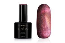 Jolifin LAVENI Shellac - Cat-Eye bordeaux 12ml
