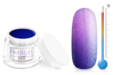 Jolifin Thermo Farbgel moonblue glimmer 5ml