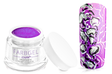 Jolifin Farbgel Nightshine violet cosmos 5ml