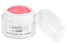 Jolifin Farbgel French pearl-coral Glimmer 5ml