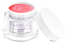 Jolifin Farbgel French pearl-coral Glimmer 5ml