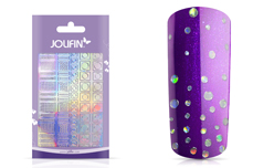 Jolifin Hologramm Sticker XL - Circles