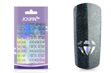 Jolifin Hologramm Sticker XL - Diamonds