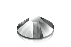 Jolifin Strasssteine 500 Stk - metallic silver Mix