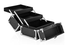 Jolifin Mobiler Kosmetik Koffer mini - black Glitter - B-Ware
