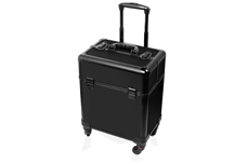 Jolifin Trolley Koffer medium - schwarz matt