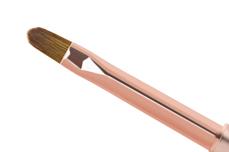 Jolifin LAVENI Rosé-Gold Pinsel - Gel oval Gr. 6