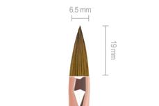Jolifin LAVENI Rosé-Gold Pinsel - Acryl Gr. 8
