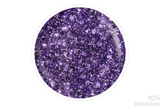 Jolifin LAVENI Shellac - violet sparkle 12ml
