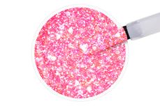 Jolifin LAVENI Shellac - pink sparkle 12ml