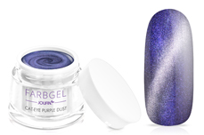 Jolifin Cat-Eye Farbgel purple dust 5ml