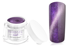 Jolifin Cat-Eye Farbgel violet 5ml
