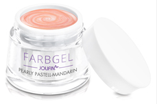 Farbgel pearly pastell-mandarin 5ml