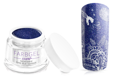 Jolifin Farbgel Nightshine dark blue Glimmer 5ml