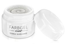 Jolifin Farbgel sparkle silver-white 5ml