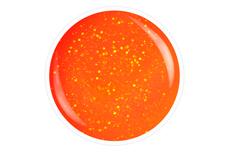 Farbgel neon-orange Glitter 5ml
