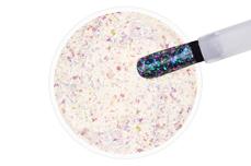 Jolifin LAVENI Shellac - Aurora Flakes purple & türkis 12ml