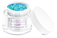 Jolifin Farbgel crystal water 5ml