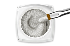 Jolifin LAVENI Farbgel - sparkle silver 5ml
