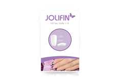 Jolifin 100er Tipbox coffin - clear