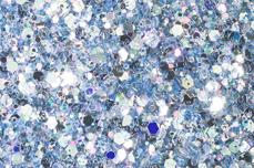 Jolifin LAVENI Luxury Glitter - pastell-blue
