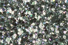 Jolifin LAVENI Luxury Glitter - navy green
