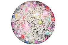 Jolifin LAVENI Luxury Nail-Art Mix - silver
