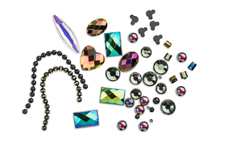 Jolifin LAVENI Luxury Nail-Art Mix - black