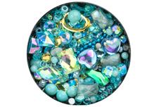 Jolifin LAVENI Luxury Nail-Art Mix - türkis