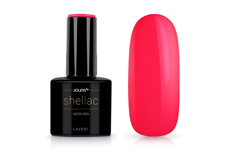 Jolifin LAVENI Shellac - neon-red 12ml
