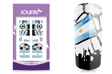 Jolifin Tattoo Wrap WM 2018 - Argentinien