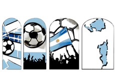 Jolifin Tattoo Wrap WM - Argentinia