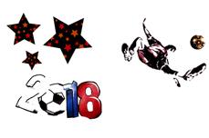 Jolifin Tattoo WM 2018 - Nr. 3