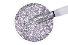 Jolifin LAVENI Shellac - silver lavender sparkle 12ml