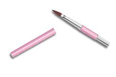 Jolifin Diamond Acryl-Pinsel rosy Gr. 8
