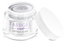 Jolifin Farbgel metallic silver 5ml