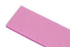 Jolifin 12er Wechselfeilenblatt - Bufferfeile pink 150