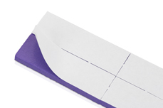 Jolifin 12er Wechselfeilenblatt - Bufferfeile purple 120